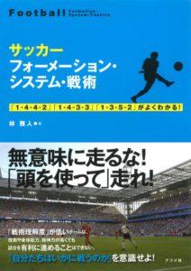 サッカー フォーメーション・システム・戦術の表紙