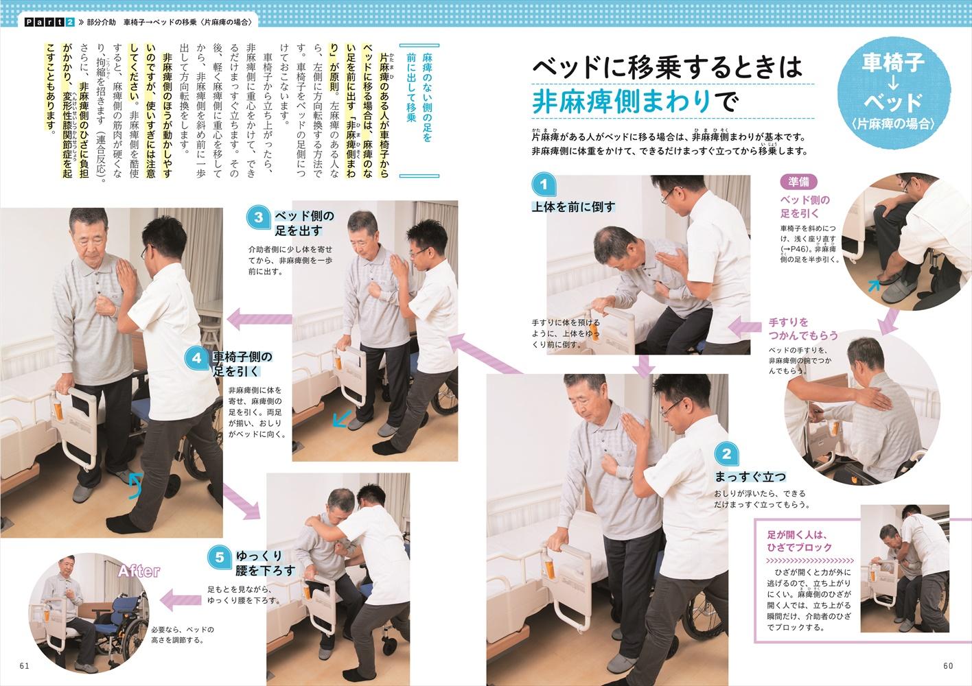 車椅子 移乗 麻痺 片