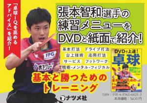 DVDで上達!卓球 基本と勝つためのトレーニング POP