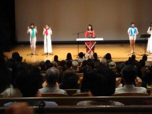 『CD付き 楽しく鍛えてみるみる若返る!声トレ』著者、川島由美先生の歌声コンサートが開催されました。