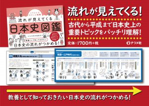イラストでサクッと理解流れが見えてくる日本史図鑑-POP