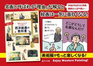 理由がわかればもっと面白い!西洋絵画の教科書-POP